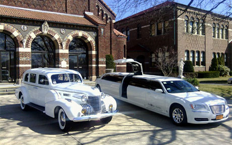 Gold Star Services - 1939 Cadillac Limousine - Long Island Limo Services