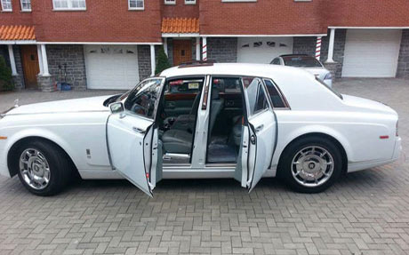 Phantom - Rolls Royce Long Island -Gold Star Limousine, Long Island NY