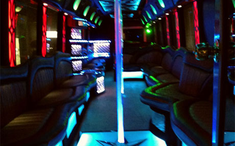 Long Island Bus - 53 Passenger Party Bus - Party Bus Long Island, NY