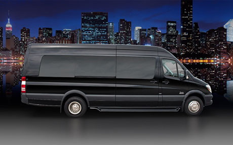 Mercedes Sprinter Limousine - Limousine Wine Tours-Gold Star Services