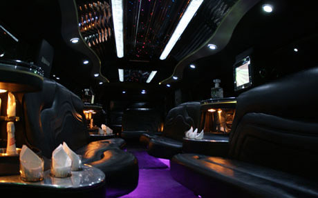 Hummer H2 Limo - Pink Limousine - Long Island - Gold Star Limousine NY